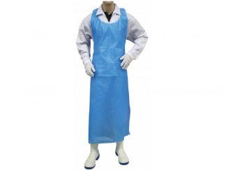 Apron Disposable Polyethelyne BLUE 840x1500 - 100 per Pack