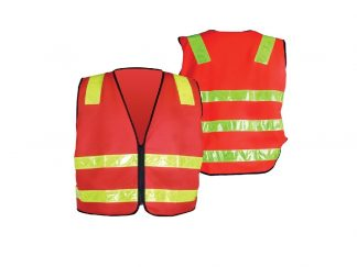 Vic Roads Safety Vest with Zip